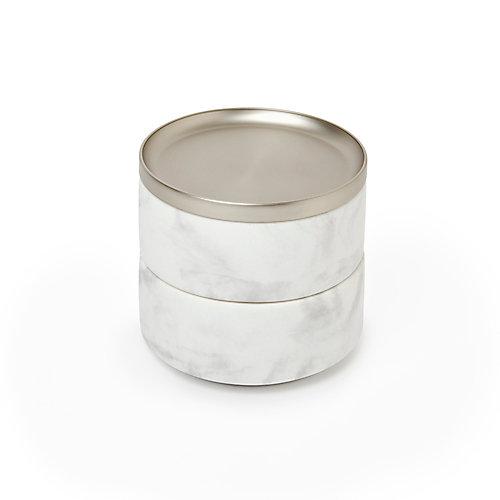Tesora  Box White/Nickel
