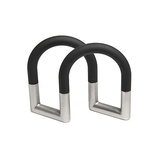 Swivel Napkin Holder Black/Nickel