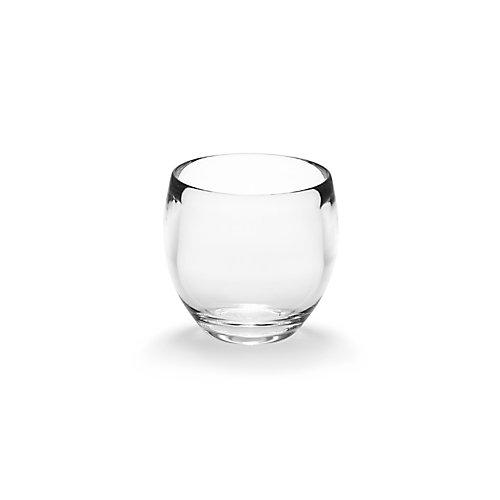 Droplet Tumbler. Verre À Brosse À Dents Droplet, Gobelet En Acrylique Transparent, 9Cm X 9.5Cm.