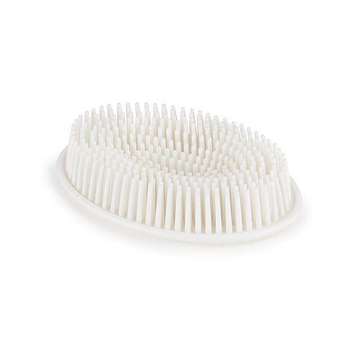 Grassy Soap Dish White