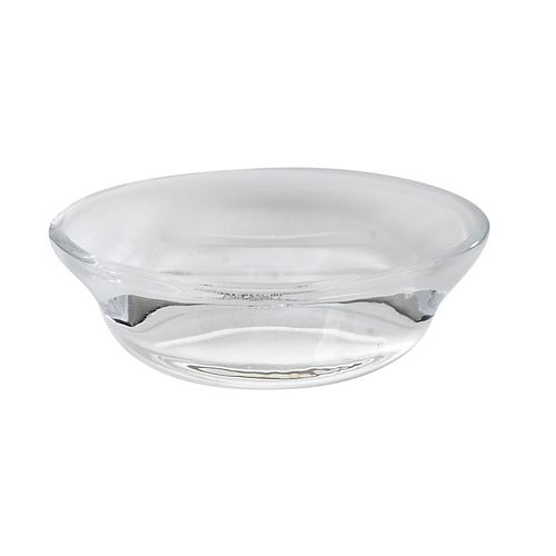 Vapor Soap Dish Translucent White