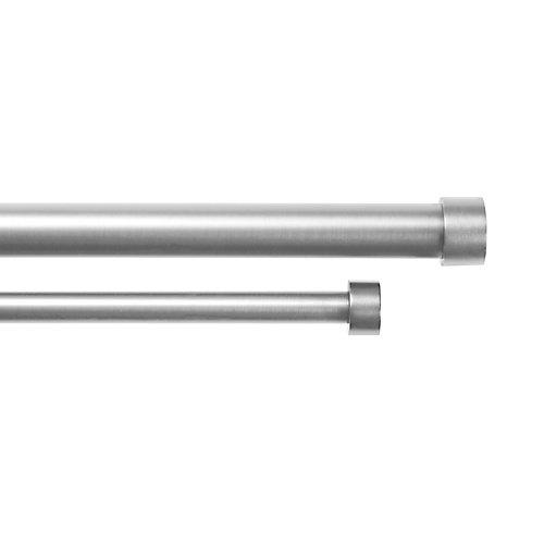 Cappa Double 1 1/4 Rod 72-144 Nickel/Steel
