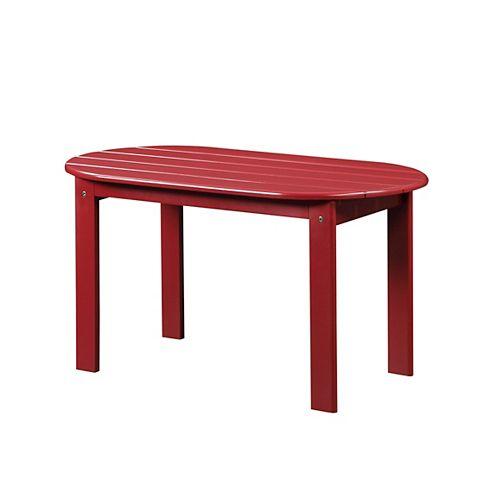 Adirondack Red Coffee Table