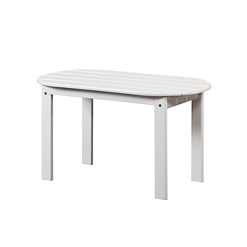 Table basse Adirondack blanche