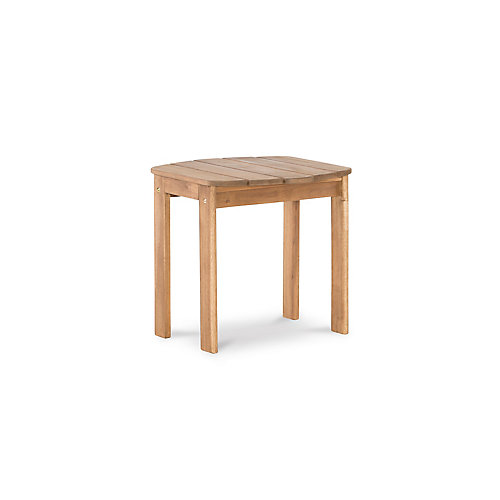 Table d'appoint Adirondack teck