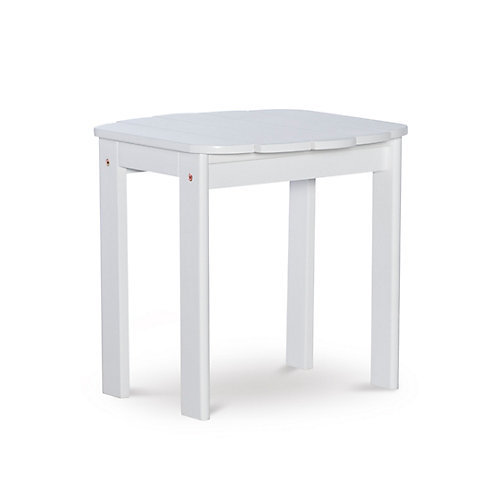Table d'appoint Adirondack blanche