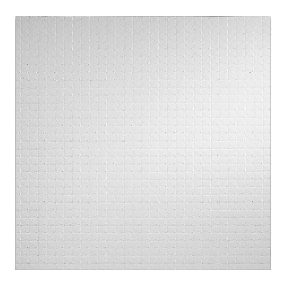 Genesis 2 ft. x 2 ft. Classic Pro White Ceiling Panel Carton of 12