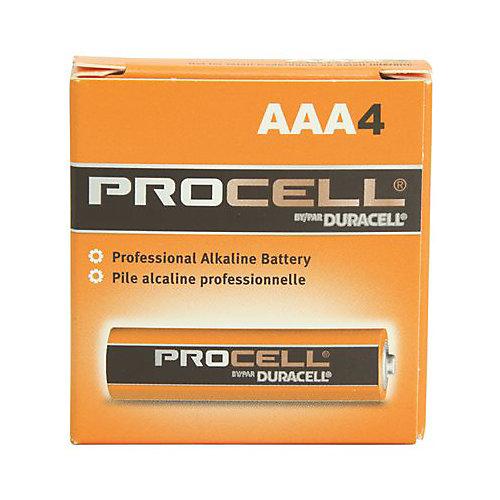 Pile Procell Alcaline De Duracell, Paquet De 4