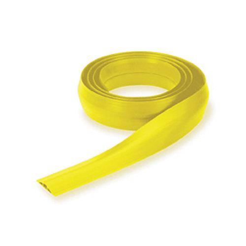 Cache Câble De Plancher Floortrak, Petit, Jaune, De Hubbell Wiring, 10Pi