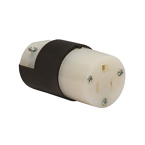 Hubbell Wiring 15 Amp 125-Volt 5-Z Connector