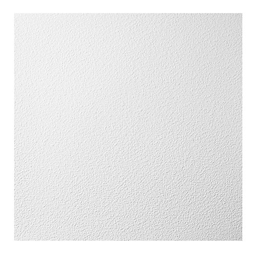 2 ft. x 2 ft. Stucco Pro White Ceiling Panel Carton of 12