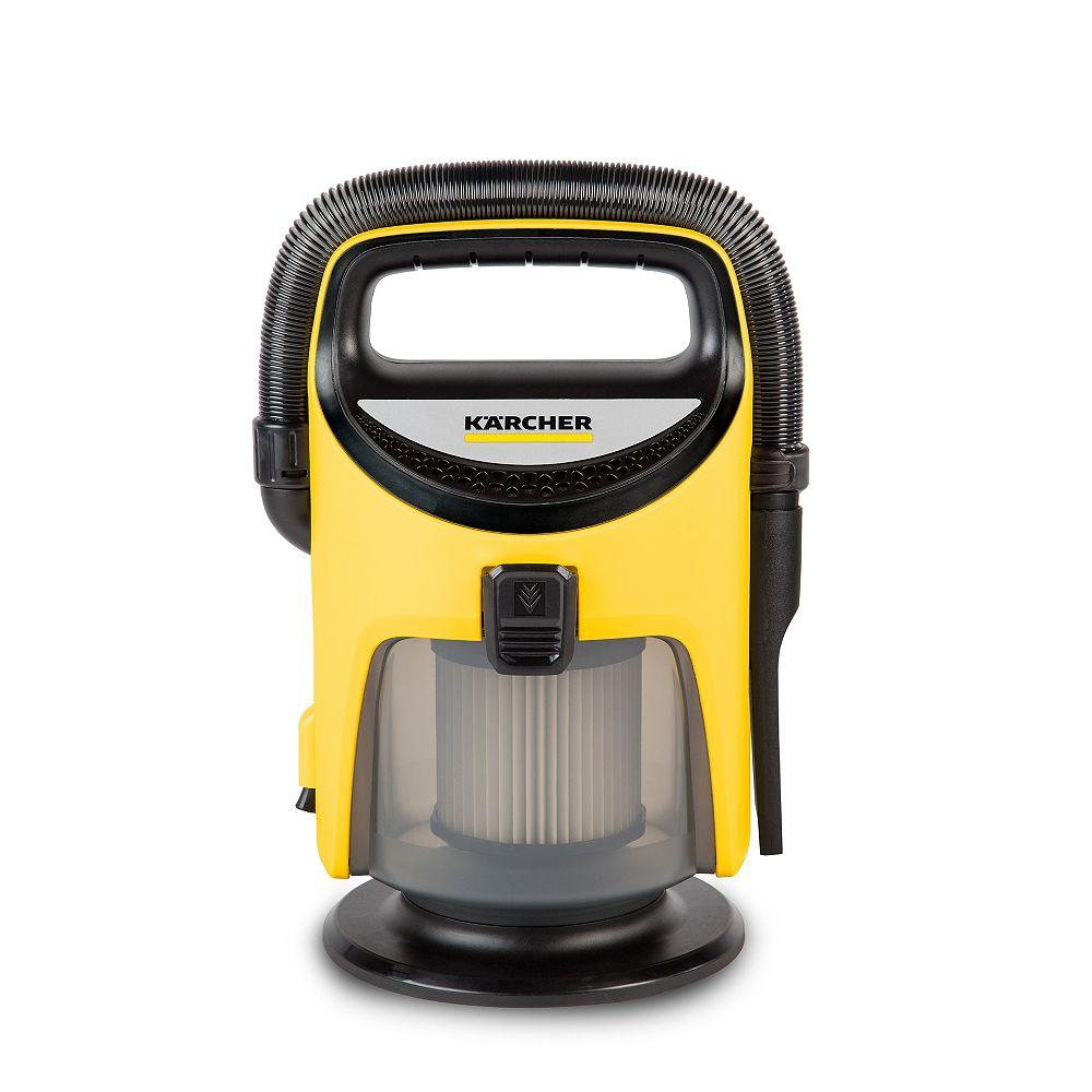 Karcher TV1 Indoor Wet/Dry Vacuum with Tool Kit