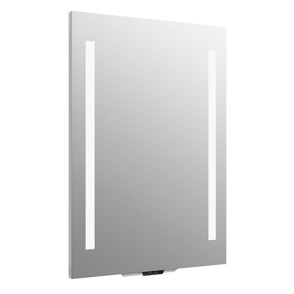 KOHLER Verdera Voice lighted mirror with Amazon Alexa, 24 inch W x 33 inch H