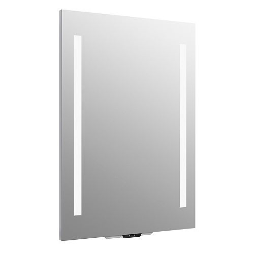 Verdera Voice lighted mirror with Amazon Alexa, 24 inch W x 33 inch H
