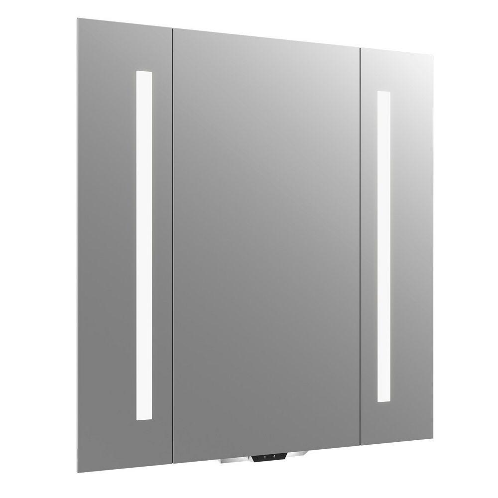 KOHLER Verdera Voice lighted mirror with Amazon Alexa, 34 inch W x 33 inch H
