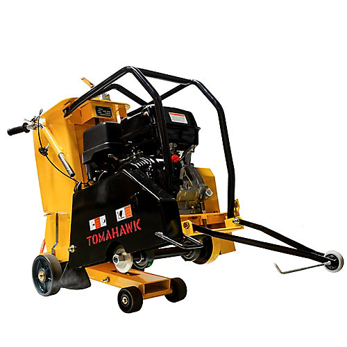 18 inch 13 HP Walk Behind Concrete Saw for Asphalt and Slab Sawing