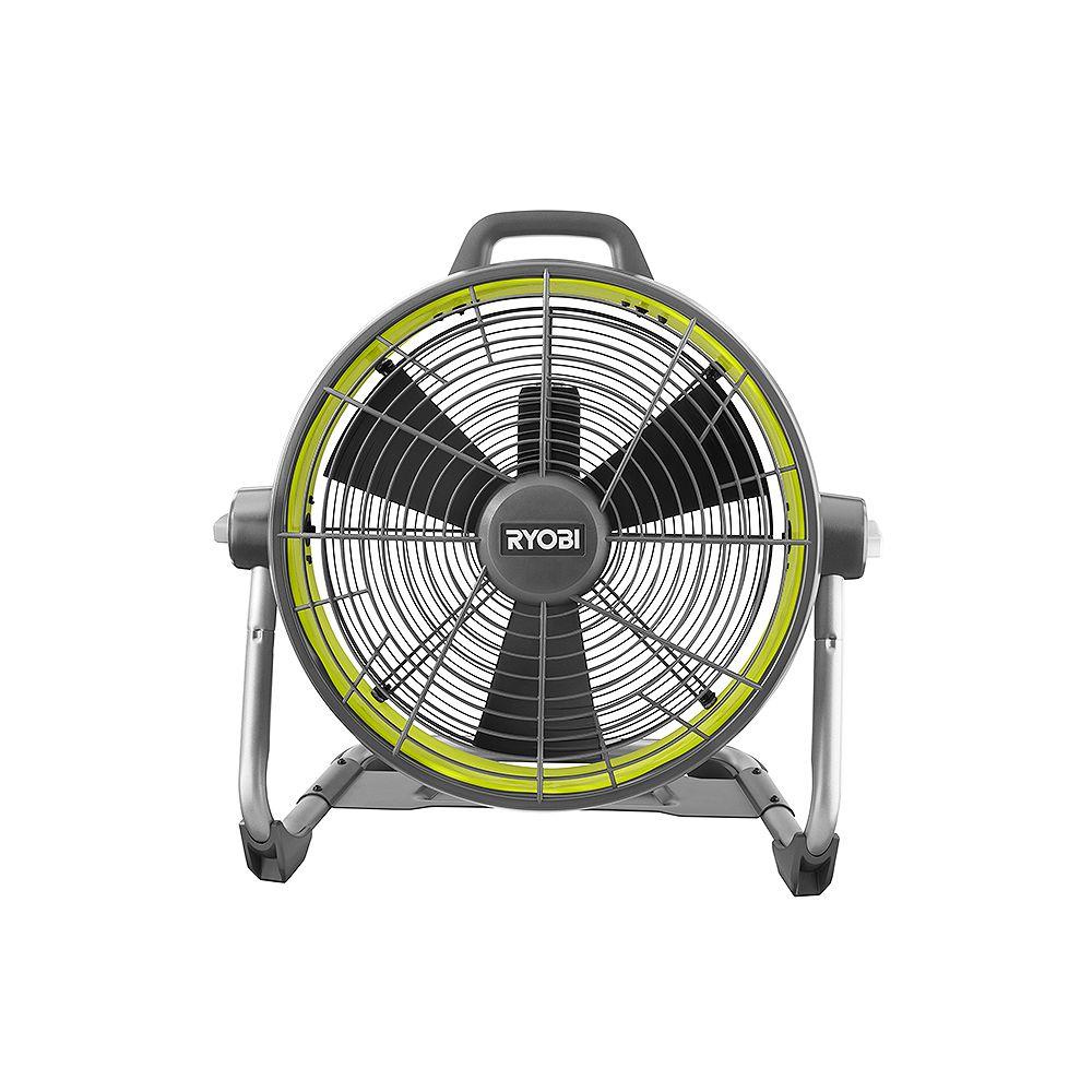RYOBI 18V ONE+ Hybrid 18 -inch Air Cannon Drum Fan
