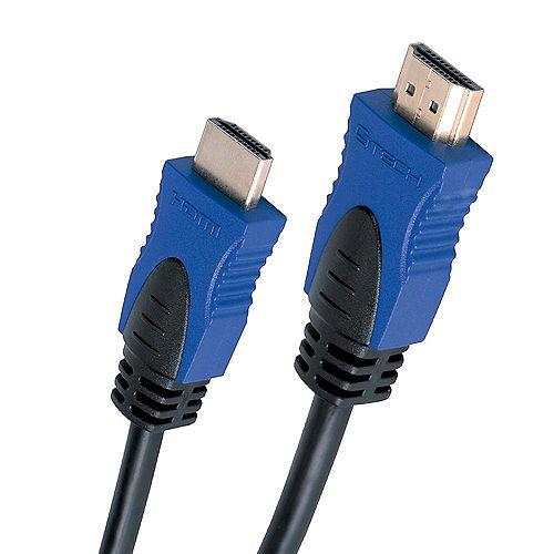 Câble HDMI 4K 3D 2.0 avec Ethernet - 12 pieds