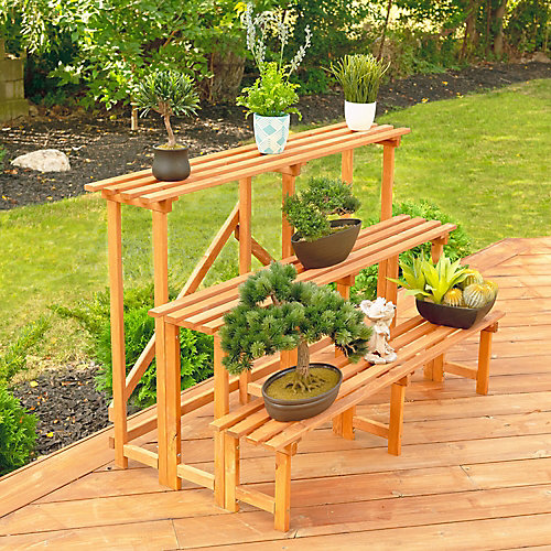 Large 3-Tier Step Plant Stand