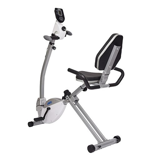 Recumbent Exercise Bike with Upper Body Exerciser