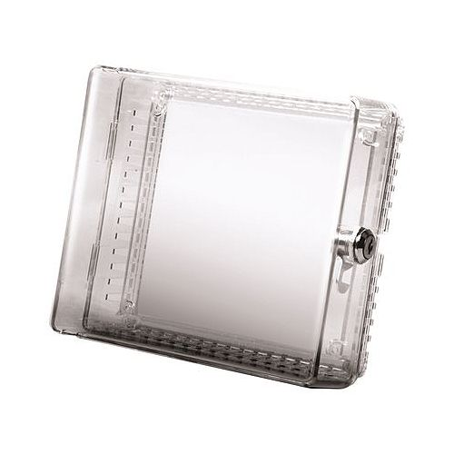 Large Clear Plastic Thermostat Cover