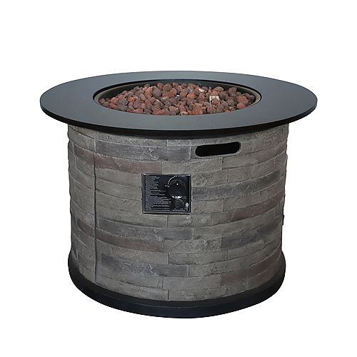 Hampton Bay Propane Fire Pit Chat Table