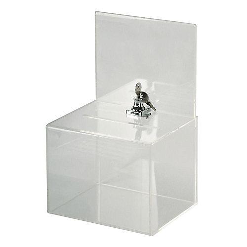 Grande boîte de collection en acrylique