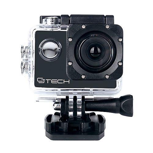 Caméra d'action Sport HD avec boîtier étanche