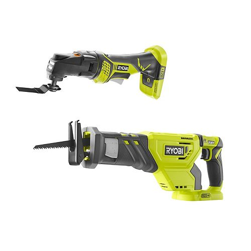 18V ONE+ Cordless Combo Kit with Brushless Reciprocating Saw and JobPlus Multi-Tool (Tools Only)