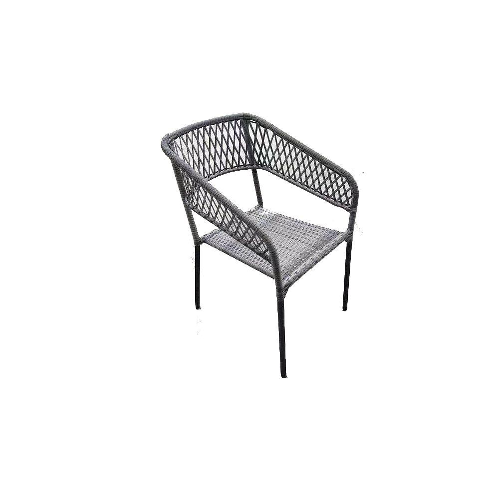 Hampton Bay Square Stacking Patio Chair