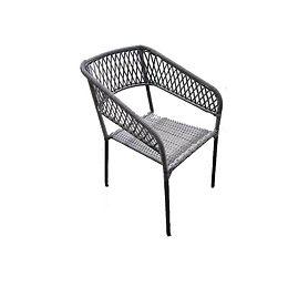 Chaise de jardin carrée empilable