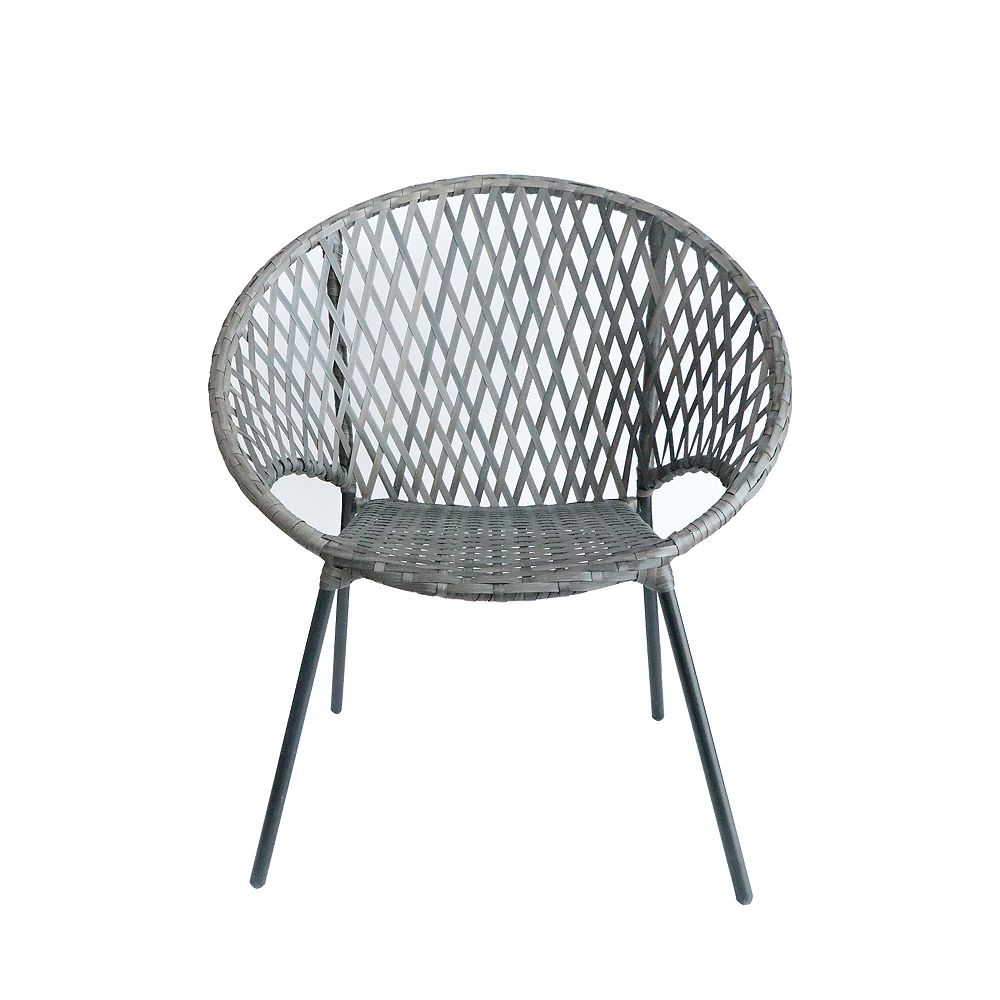 Hampton Bay Round Stacking Patio Chair