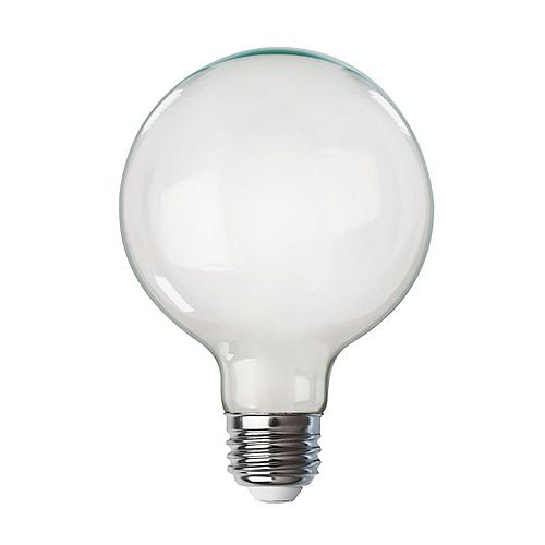 100W Soft White (2700K) G40 Dimmable Vintage Style White Stick Filament LED Light Bulb