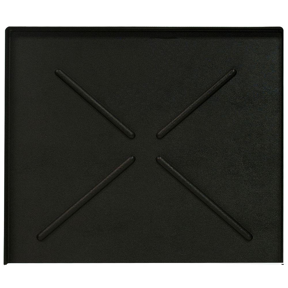 Everbilt 24.5 in. x 20.5 in. Black Dishwasher Pan
