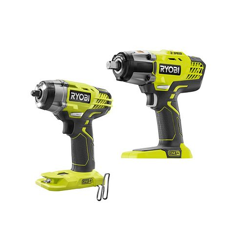 18V ONE+ Cordless 3/8-inch and 1/2-inch Impact Wrenches (Tools-Only)