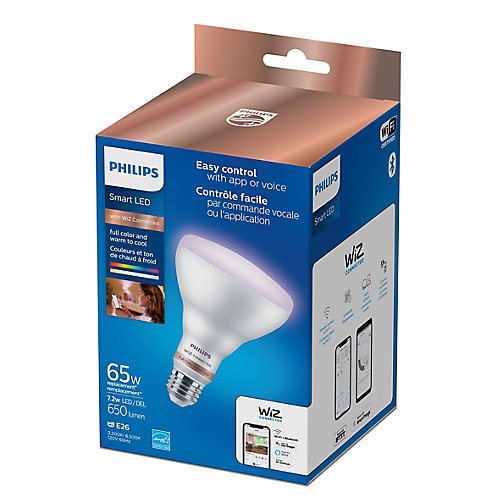 WiZ 65W BR30 WiFi Full Color & Tunable White