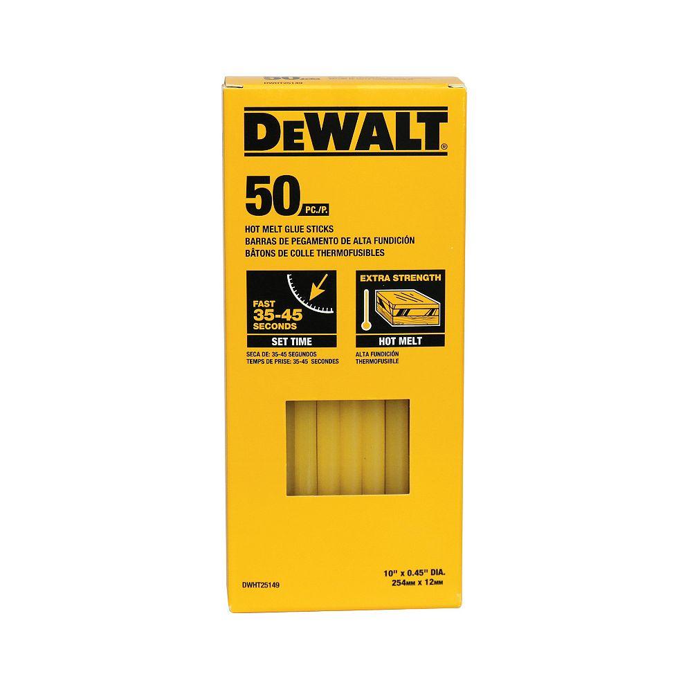 DEWALT Hot Melt Glue Sticks (50 PK)