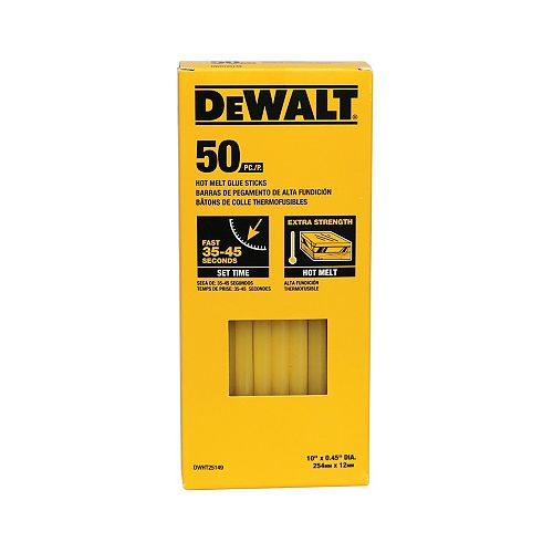 Bâtonnets de colle thermofusible (50 PK)