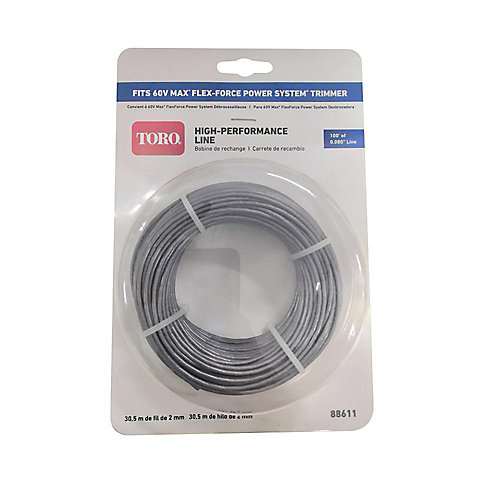 0.080 Replacement Trimmer Line for 60V 14/16-inch String Trimmer