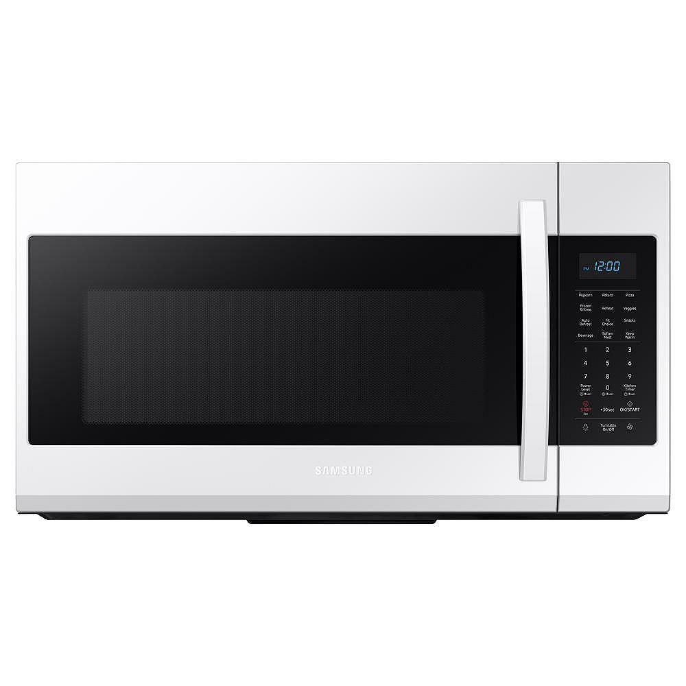 Samsung 1.9 cu. ft. Over the Range Microwave in White