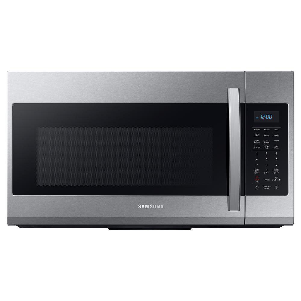 Samsung 1.9 cu. ft. Over the Range Microwave in Fingerprint Resistant Stainless Steel