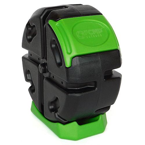 Composteur roulant - vert