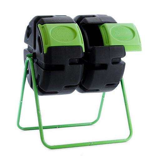 Composteur rotatif à deux corps de HOTFROG