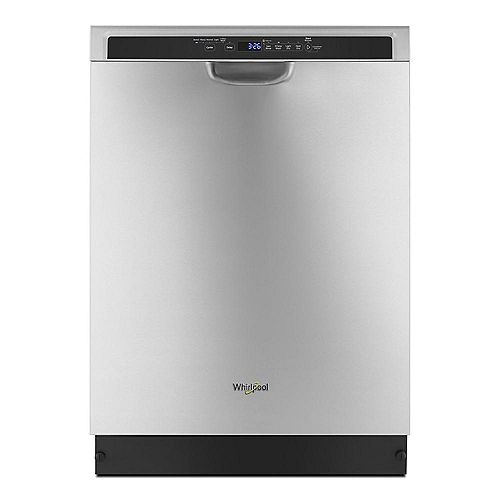 Front-Control Dishwasher in Stainless Steel with Stainless Steel Tub, 50 dBA - ENERGY STAR®