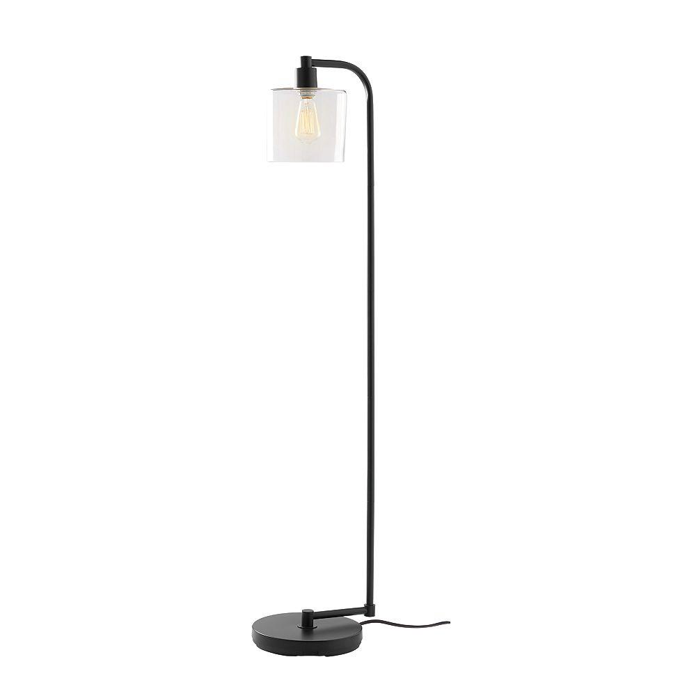 Hdc 1 Light With Clear Gl Floor Lamp