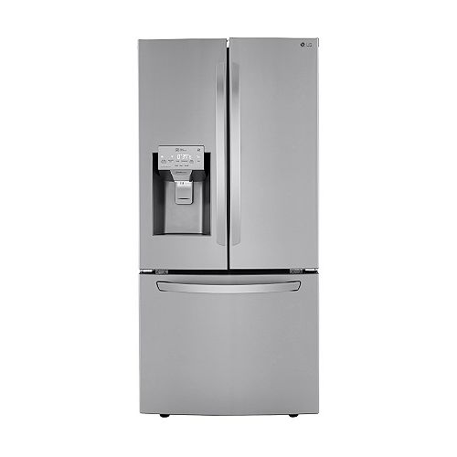33-inch W 24.5 cu. ft. French Door Refrigerator with Water & Ice Dispenser in Smudge Resistant Stainless Steel - ENERGY STAR®