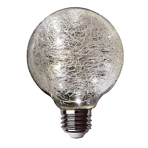 Fairy Light Soft White (2700K) Crackle Glass Globe LED Light Bulb