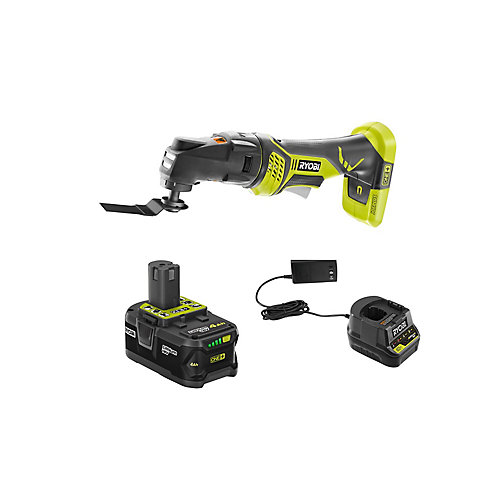 18V ONE+ Cordless JobPlus Multi-Tool with (1) 4.0 Ah Lithium-Ion Battery, and Charger