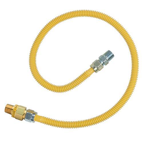 Trousse raccord gaz 36 po-DE 5/8 po + soupape thermique d'excès de débit Safety+Plus2 (107 000 BTU)