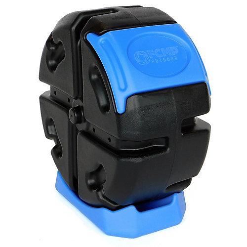 Composteur roulant - bleu